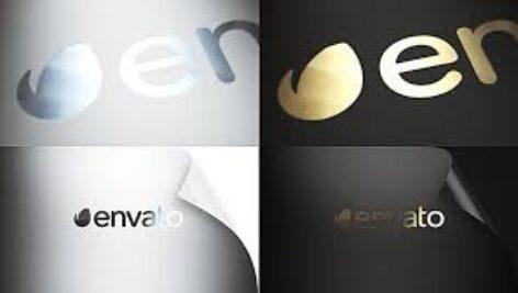 پروژه افترافکت Realistic Logo