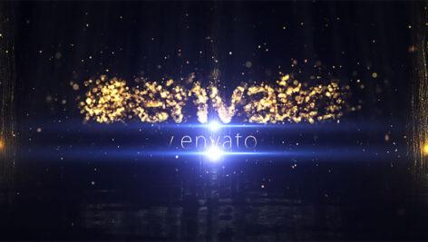 پروژه افترافکت نمایش لوگو با ذرات Particle Logo Reveal