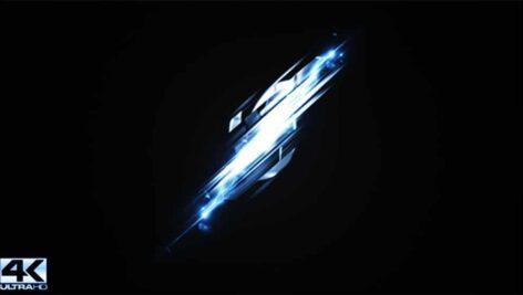 پروژه افترافکت نمایش لوگو با برخورد انرژی Power Strike Logo