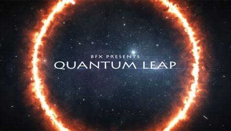 پروژه افترافکت تریلر فیلم Quantum Leap