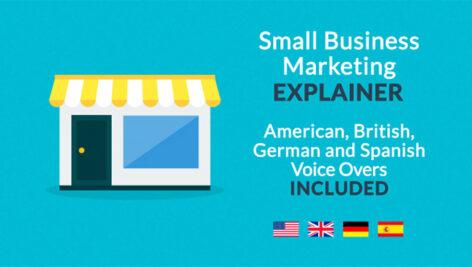 پروژه افترافکت تیزر تبلیغاتی بازاریابی کسب و کارهای کوچک