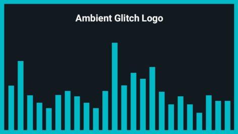 موزیک زمینه لوگو Ambient Glitch Logo