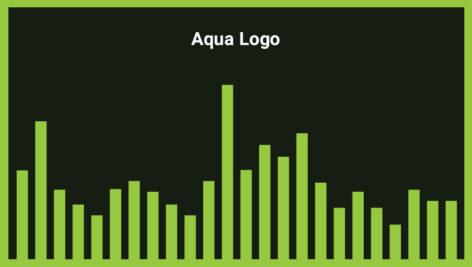 موزیک زمینه لوگو Aqua Logo
