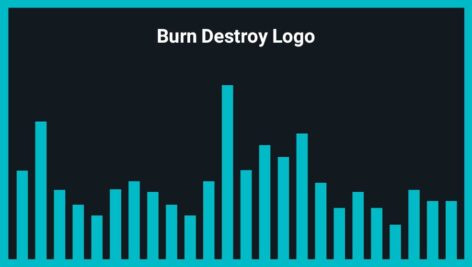 موزیک زمینه لوگو Burn Destroy