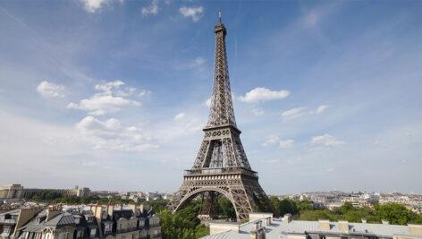 مجموعه فوتیج تایم لپس برج ایفل در پاریس