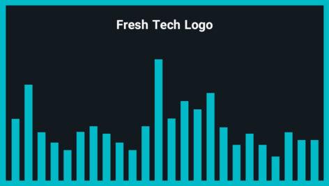 موزیک زمینه لوگو Fresh Tech Logo