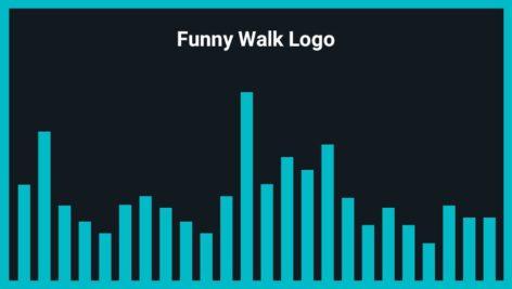 موزیک زمینه لوگو Funny Walk Logo