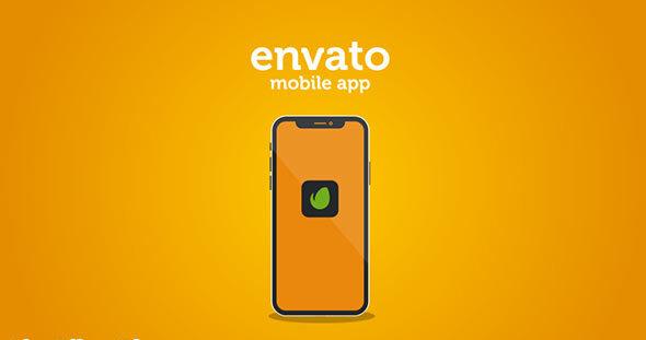 پروژه افتر افکت معرفی اپلیکیشن موبایل اندروید و آیفون