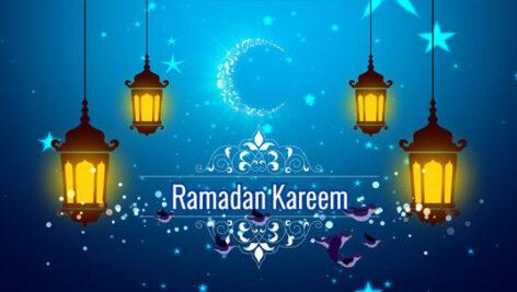 پروژه افتر افکت اینترو ماه رمضان Ramadan Kareem