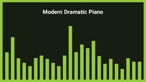 موزیک زمینه پیانو دراماتیک Modern Dramatic Piano