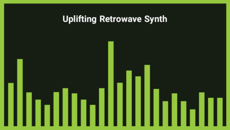 موزیک زمینه پاپ به سبک رترو Uplifting Retrowave Synth