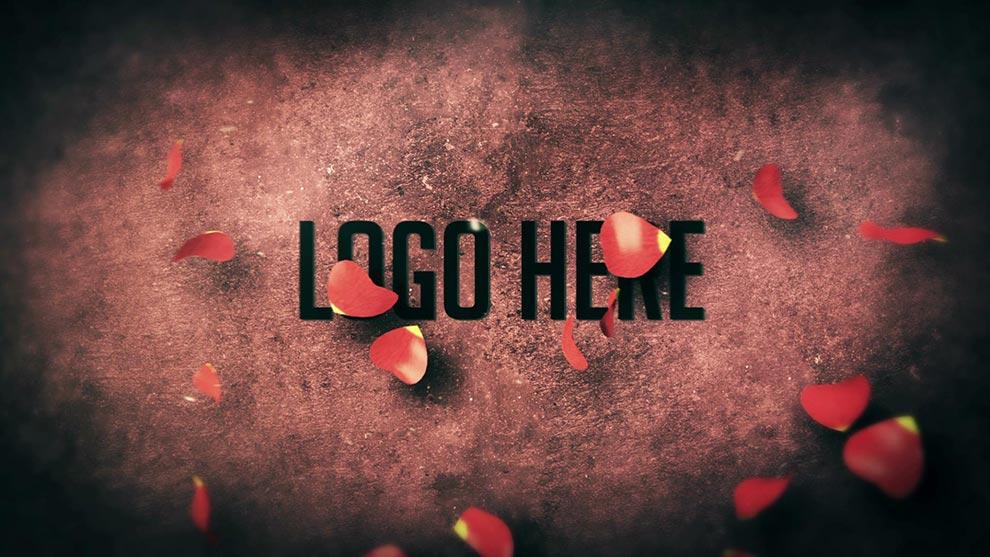 پروژه افترافکت لوگو روز ولنتاین Valentine's Day Logo